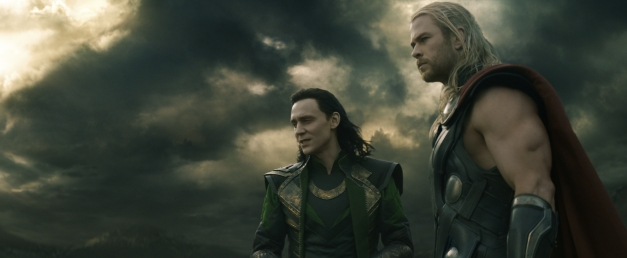 Thor The Dark World - Loki Tom Hiddleston and Thor Chris Hemsworth