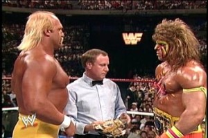 Hogan vs Warrior Wrestlemania 6