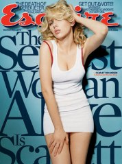 Scarlett Johansson Esquire's Sexiest Woman Alive 2006
