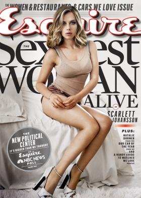 Scarlett Johansson Esquire's Sexiest Woman Alive 2013