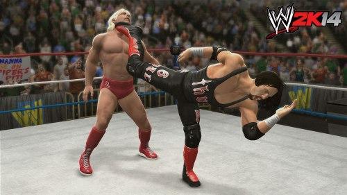 WWE2K'14 - Flair vs Syxx