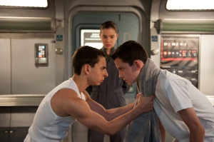 "Richard Foreman Jr., SMPSP/Summit Entertainment MOISES ARIAS, HAILEE STEINFELD and ASA BUTTERFIELD star in ""ENDER'S GAME."""