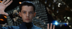 "Richard Foreman Jr., SMPSP/Summit Entertainment ASA BUTTERFIELD stars in ""ENDER'S GAME."""