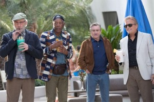 Last Vegas Kevin Kline, Robert De Niro, Morgan Freeman and Michael Douglas