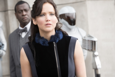 "Murray Close/Lionsgate Publicity Jennifer Lawrence stars as 'Katniss Everdeen' in ""The Hunger Games: Catching Fire."""