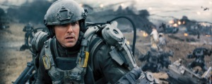 """Warner Bros. Pictures TOM CRUISE as Major William Cage in Warner Bros. Pictures' and Village Roadshow Pictures' sci-fi thriller """"EDGE OF TOMORROW."""""""
