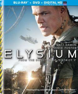 Elysium Blu Ray cover