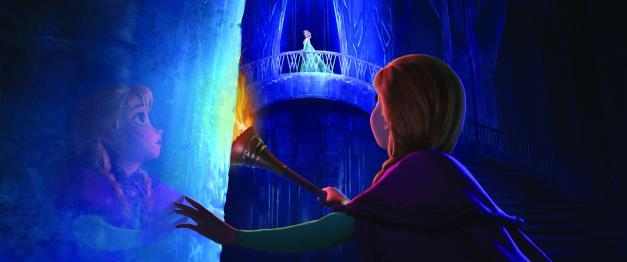 Disney Anna confronts Elsa