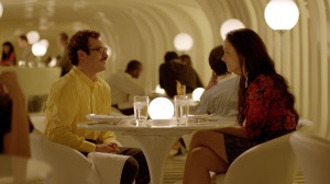 "Courtesy Warner Bros. Pictures Joaquin Phoenix as Theodore and Olivia Wilde as Blind Date in the romantic drama ""HER."""