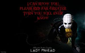 Silhouette Realm as Lady Pinhead