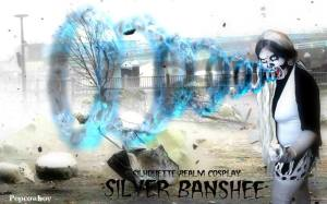 Silhouette Realm as Silver Banshee