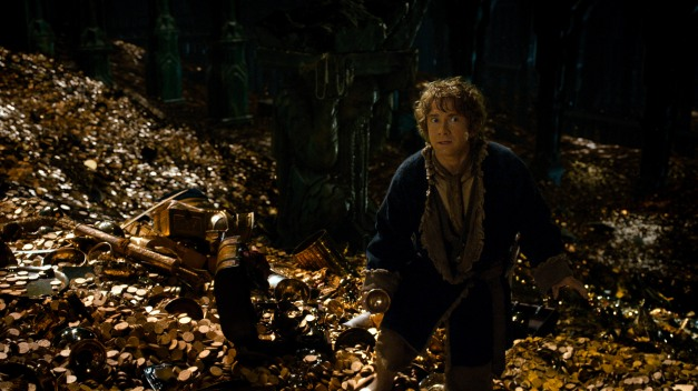 "Mark Pokorny/Warner Bros.  MARTIN FREEMAN as Bilbo in the fantasy adventure ""THE HOBBIT: THE DESOLATION OF SMAUG,"" a production of New Line Cinema and Metro-Goldwyn-Ma WARNER BROS. ENTERTAINMENT INC. AND METRO-GOLDWYN-MAYER PICTURES INC."