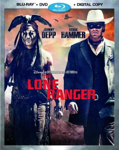 The Lone Ranger Blu Ray cover