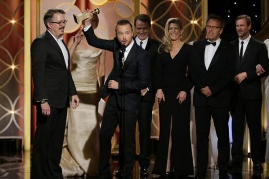 2014 Golden Globes Breaking Bad cast