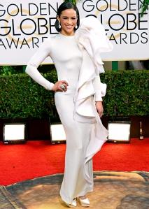 2014 Golden Globes - Paula Patton
