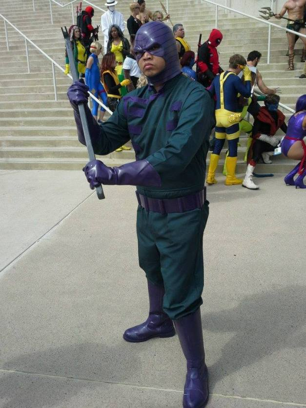 Cosplay Confidential Ben Esguerra as Wrecker about to nail the X-Men