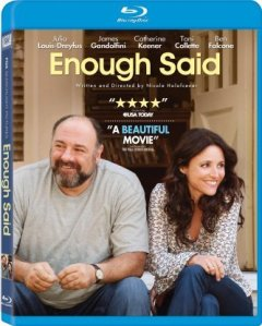 enough said blu ray cover james gandolfini and julia louis-dreyfuss