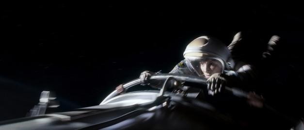 "Courtesy Warner Bros. Pictures SANDRA BULLOCK as Ryan Stone in Warner Bros. Pictures' ""Gravity."""