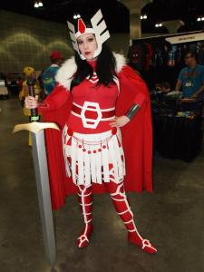 Katieasaur Cosplay as Lady Sif