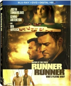 Runner Runner Blu ray cover