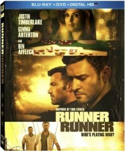 Runner Runner Blu ray cover