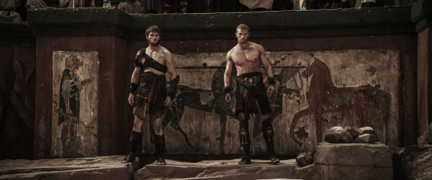 "Summit Entertainment (From left) Liam McIntyre and Kellan Lutz star in ""THE LEGEND OF HERCULES."""