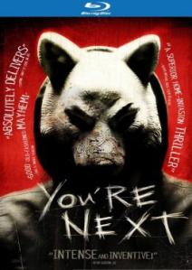 You're Next blu ray cover