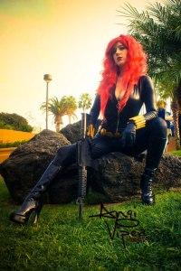 Angi Viper as Black Widow