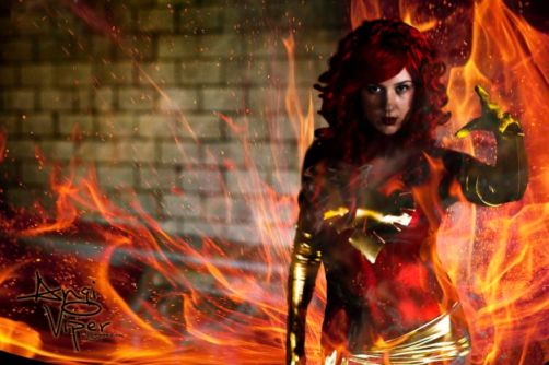 Angi Viper as Dark Phoenix