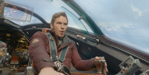 "Film Frame/Marvel Studios Peter Quill/Star-Lord (Chris Pratt) in Marvel's  ""Guardians of the Galaxy."""
