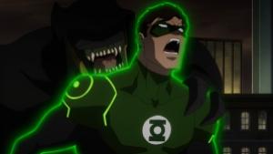 Credit: Warner Bros. Pictures A parademon attacks Green Lantern.