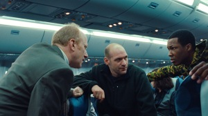 Universal Pictures [From left] Charles (Frank Deal), Austin (Corey Stoll) and Travis (Corey Hawkins) discuss a plan to stop the threat.