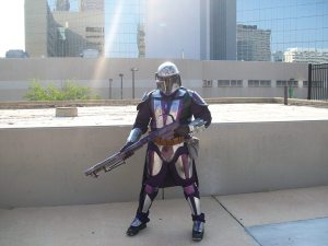 Wendell as a Mandalorian