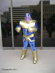 Wendell as Thanos