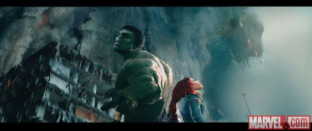 Avengers - Age of Ultron - Hulk and Scarlett Witch