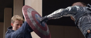 Captain America - The Winter Solider - Steve Rogers vs The Winter Soldier