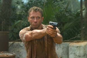Casino Royale James Bond with gun