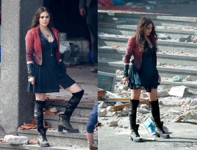 Elizabeth Olsen as Scarlett Witch2