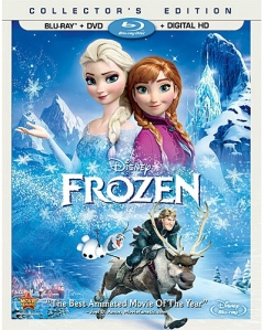 Frozen blu ray cover