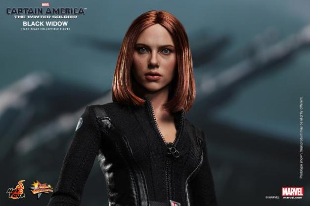 Hot Toys Captain America The Winter Soldier - Black Widow Scarlet Johnansson