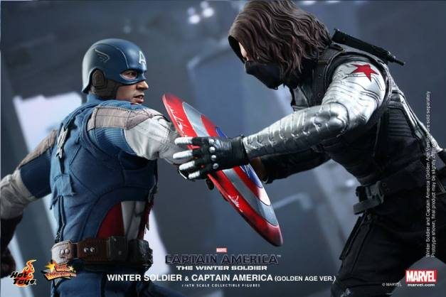 Hot Toys Captain America The Winter Soldier - Cap vs Winter Soldier