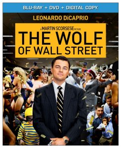 The Wolf of Wall Street blu ray cover