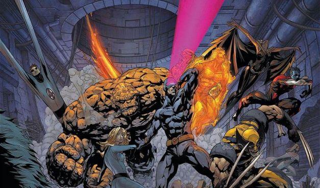 X-Men and Fantastic 4