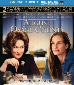 August Osage County blu ray cover