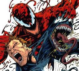 Carnage attacking Venom