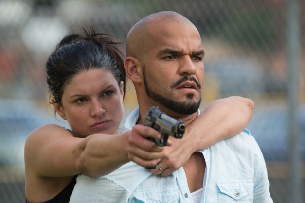 Anchor Bay Films Gina Carano and Amaury Nolasco