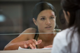 "Anchor Bay Films Gina Carano stars in ""In the Blood."""