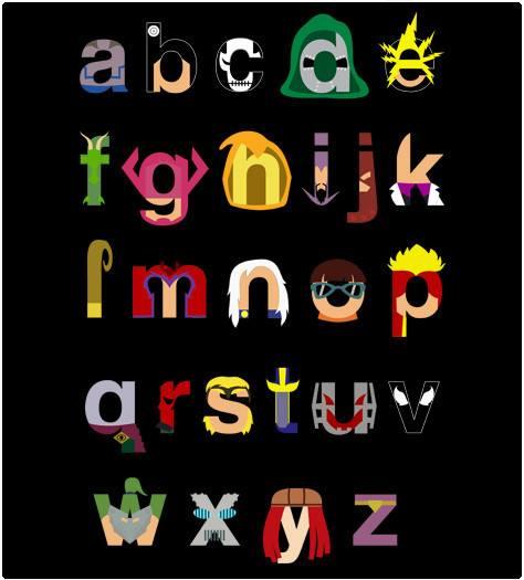 Marvel villains alphabet