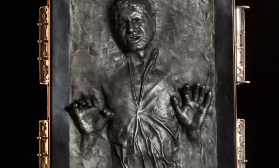 Sideshow life-size Han Solo in Carbonite main pic