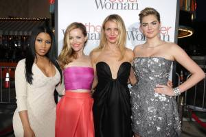 The Other Woman Los Angeles premiere - Nicki Minaj, Leslie Mann, Cameron Diaz and Kate Upton